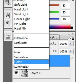 تلوين صورة أبيض و أسود قديمة