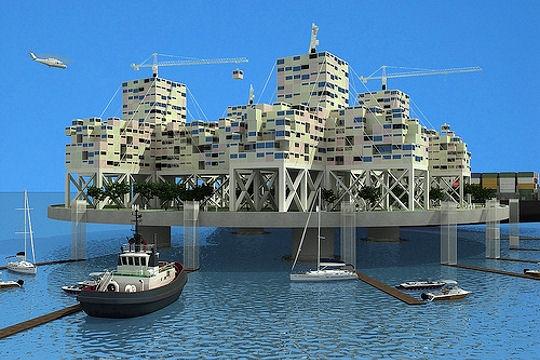 الجزر الاصطناعية: مستقبل الفن المعماري