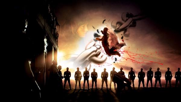 أخر أعمالي: خلفية لمسلسل Spartacus