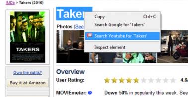 أخر أعمالي: إضافة Youtube للمتصفح غوغل Chrome